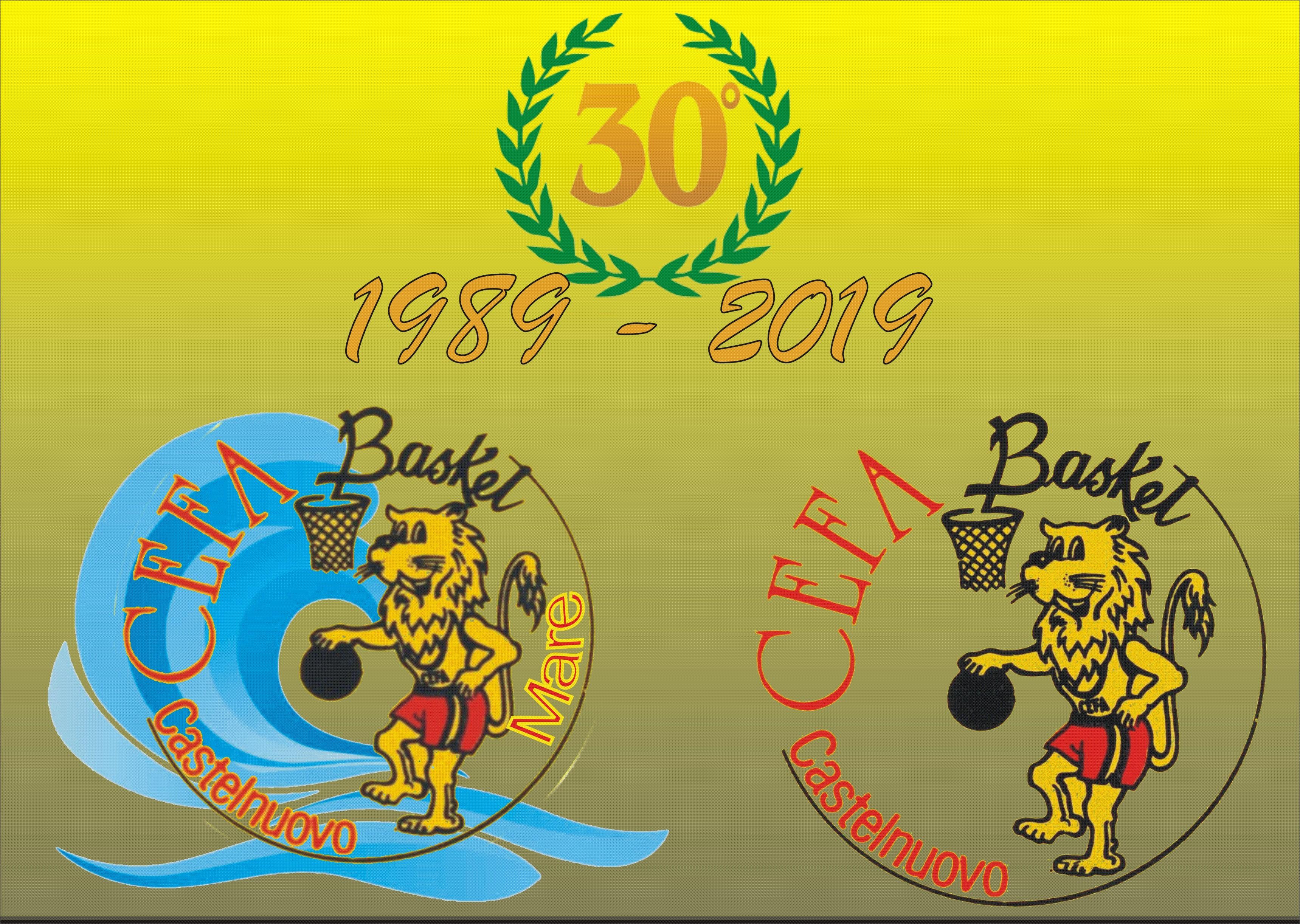 il Video dei 30 Anni del CEFA Basket 1989 – 2019