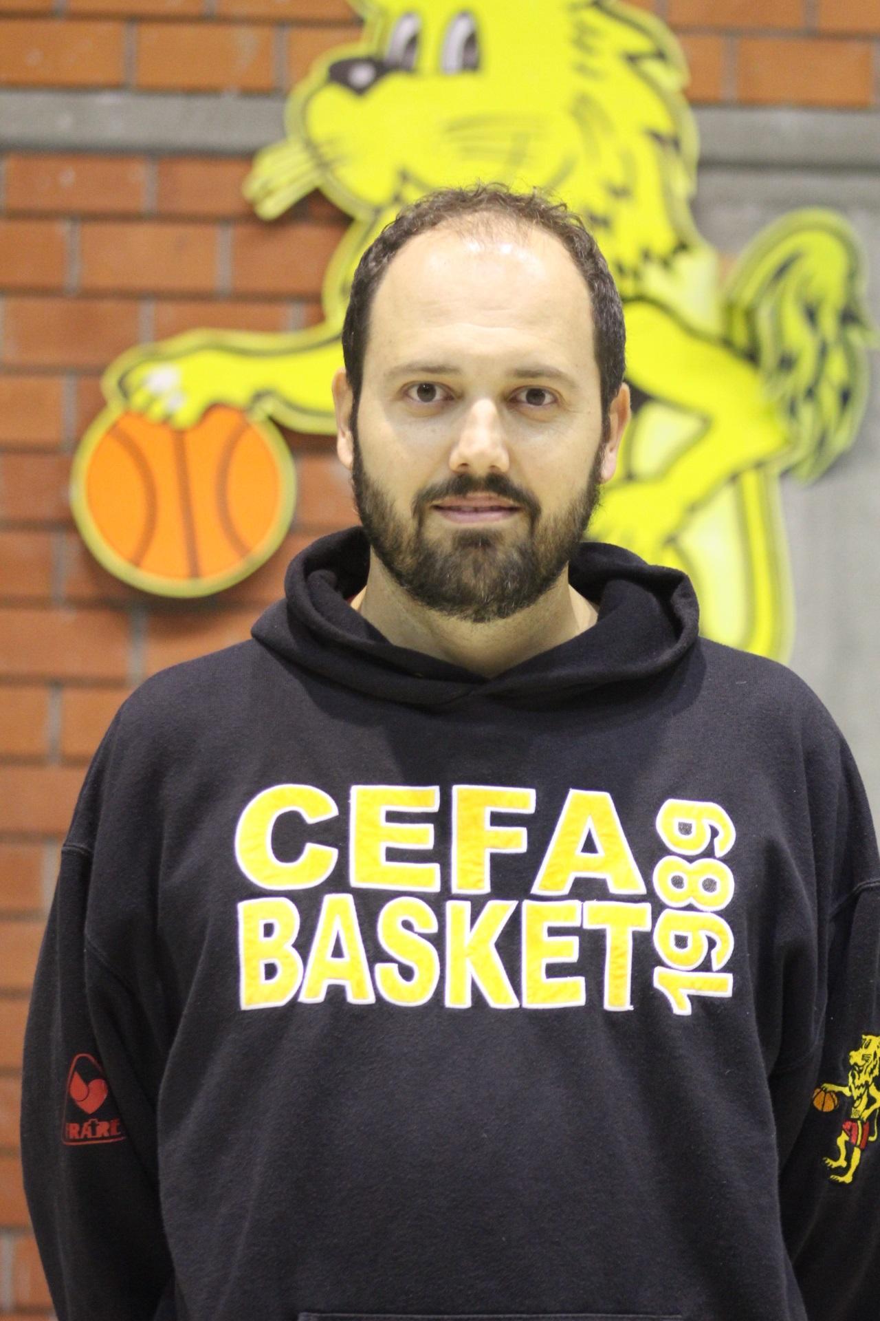 Maurizio Romani il nuovo Coach della squadra di Promozione del CEFA Basket per la stagione 2019/2020