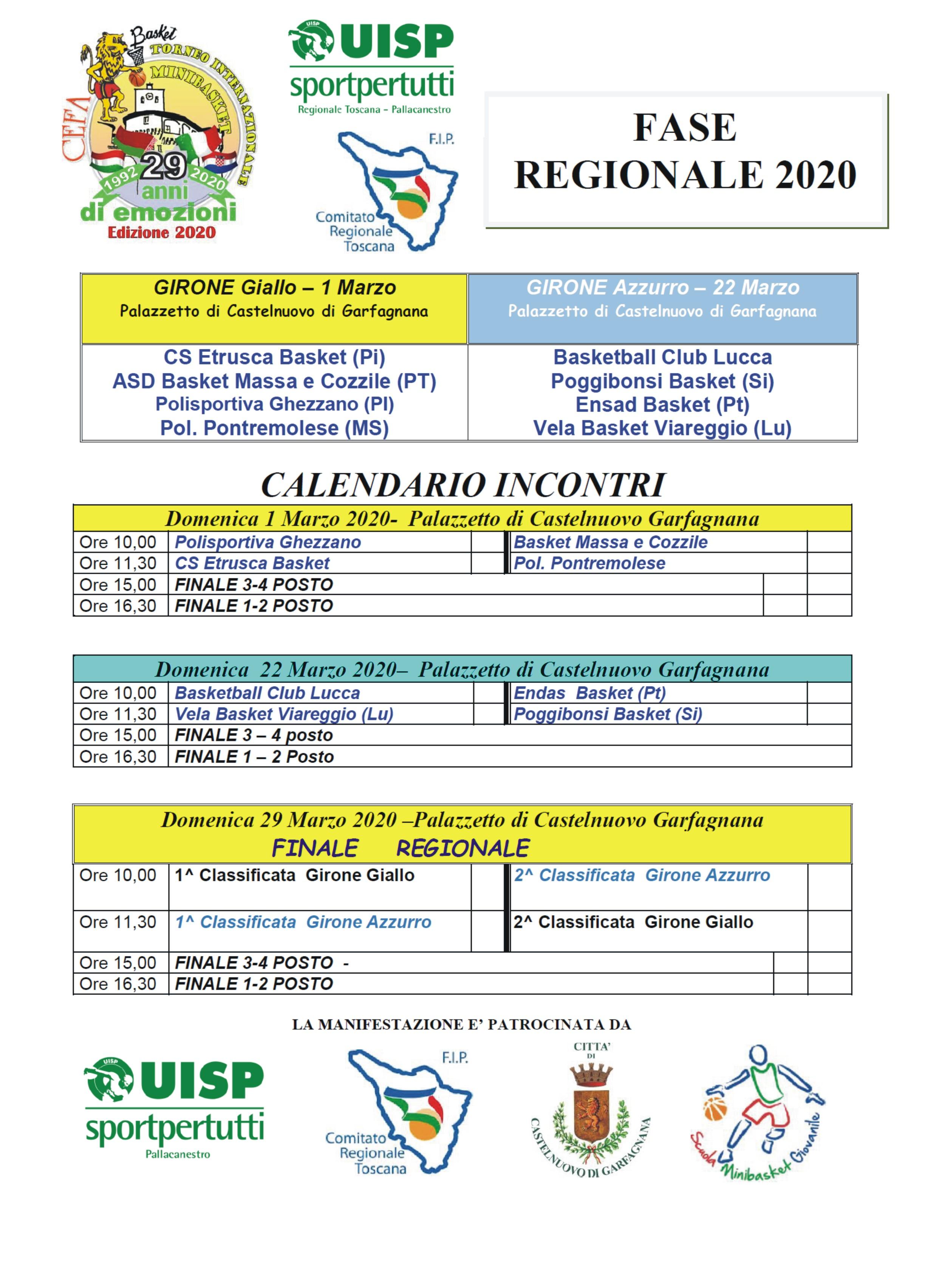 Al via la Fase Regionale della 29^ Edizione del Torneo Internazionale di Minibasket – Trofeo CEFA – 18° Memorial Danilo Boschi